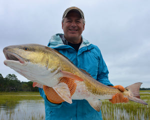Hiton Head Fall Fishing for Redfish with Off The Hook Fishing Charters