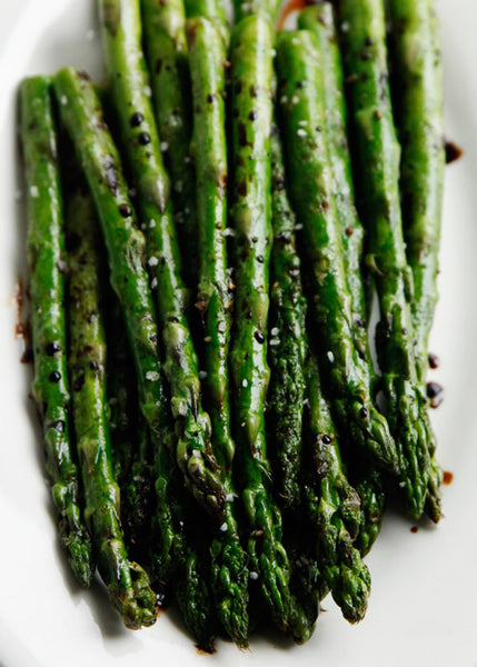 Acacia Honey and Lemon Asparagus