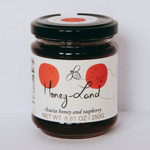 Load image into Gallery viewer, Acacia Honey and Raspberry 250 grams