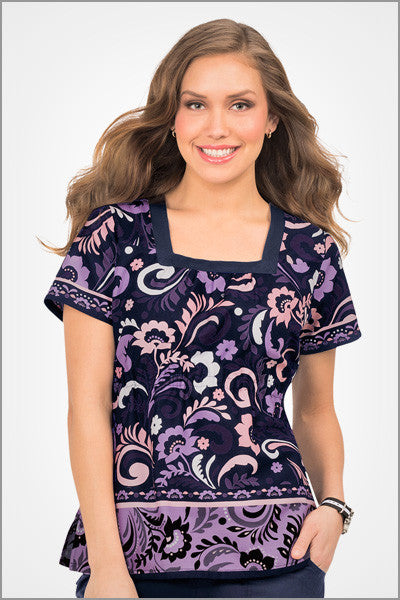 Koi Vanessa Penny Lane Print Top - Parker's Clothing & Gifts