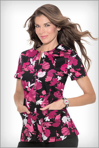 Koi Scrubs Naomi Transcend Print Tops - Parker's Clothing & Gifts