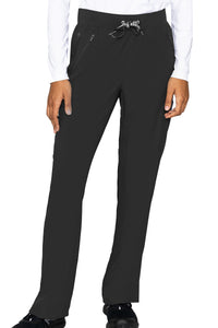 Med Couture Scrub Pants Insight Zipper Pant in Black at Parker's Clothing and Shoes