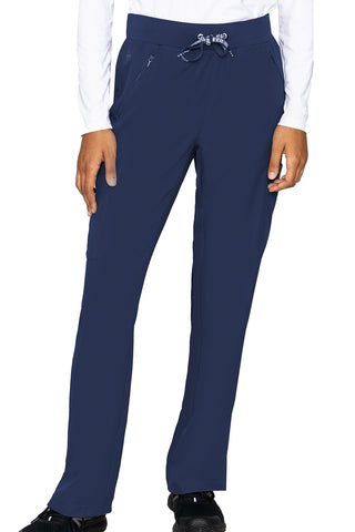 Med Couture Scrub Pants Insight Zipper Pant in Navy at Parker's Clothing and Shoes