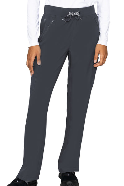 Med Couture Scrub Pants Insight Zipper Pant in Pewter at Parker's Clothing and Shoes