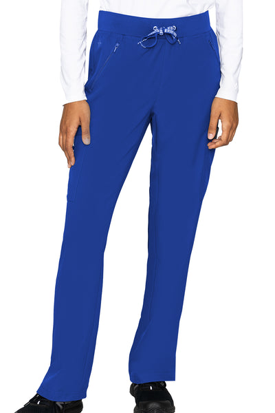 Med Couture Scrub Pants Insight Zipper Pant in Royal at Parker's Clothing and Shoes