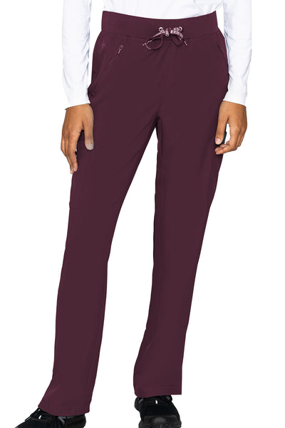 Med Couture Scrub Pants Insight Zipper Pant in Wine at Parker's Clothing and Shoes