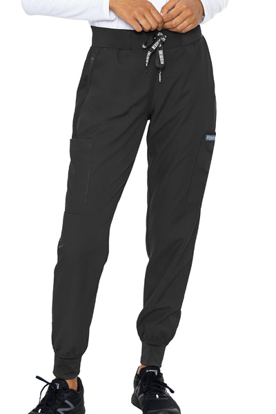 Med Couture Scrub Pants Insight Jogger Pant in Black at Parker's Clothing and Shoes.
