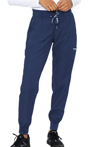 Med Couture Scrub Pants Insight Jogger Pant in Navy at Parker's Clothing and Shoes.