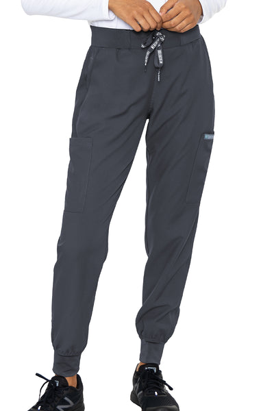 Med Couture Scrub Pants Insight Jogger Pant in Pewter at Parker's Clothing and Shoes.