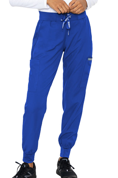 Med Couture Scrub Pants Insight Jogger Pant in Royal at Parker's Clothing and Shoes.