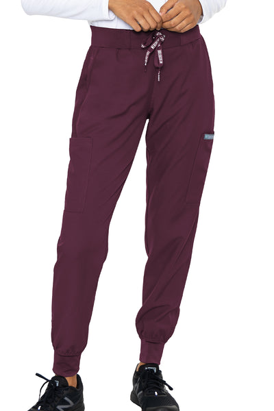 Med Couture Scrub Pants Insight Jogger Pant in Wine at Parker's Clothing and Shoes.