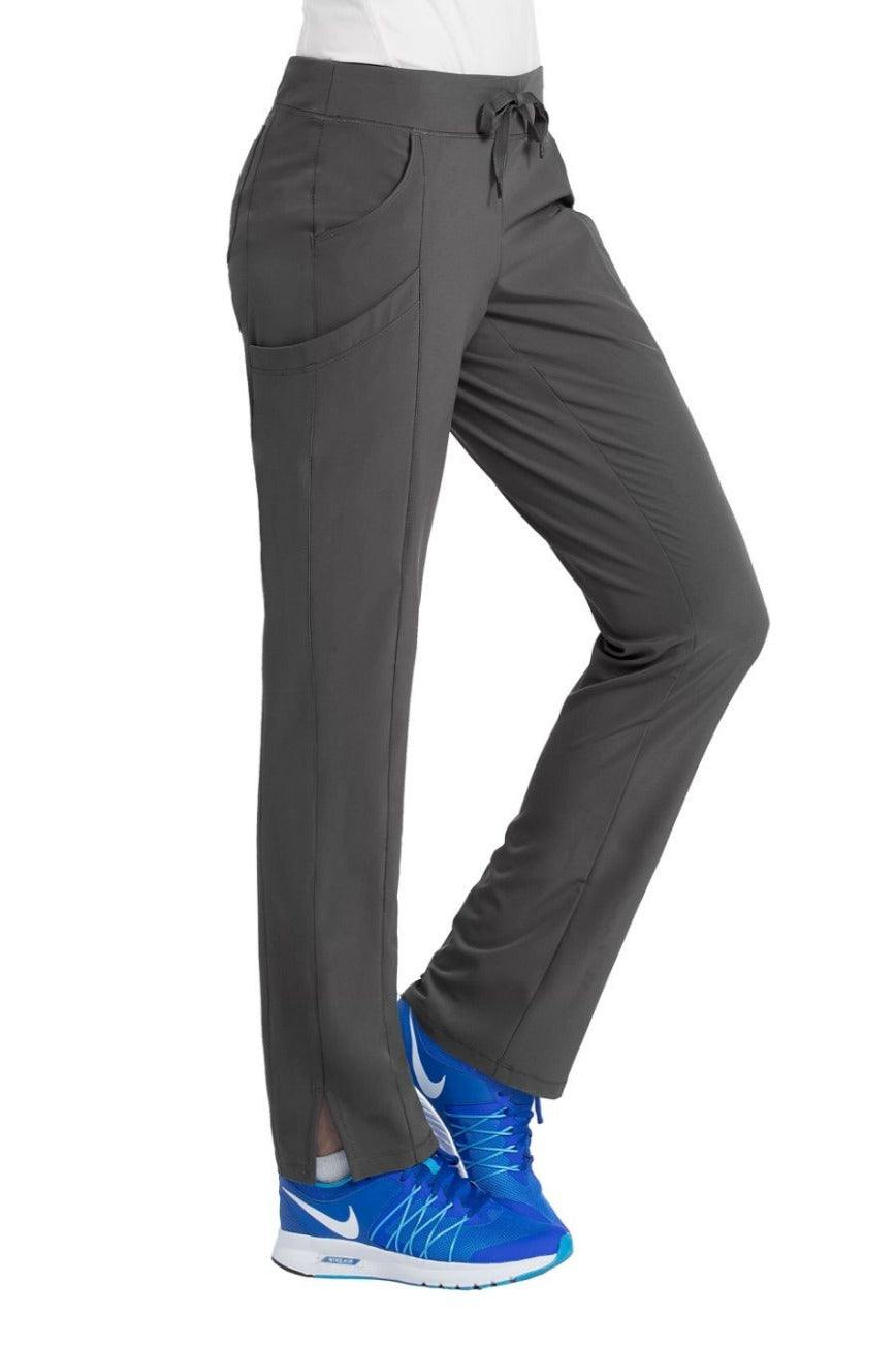 Med Couture Scrub Pants 4-Ever Flex Carly Black - Parker's Clothing and Shoes