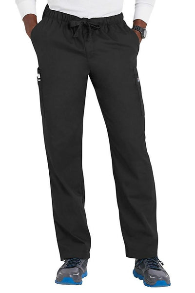 Cherokee Mens Scrub Pants Workwear Originals in Pewter at Parker's Clothing and Shoes