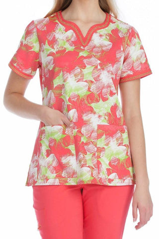 Med Couture Ella Hello Sunshine Print Tops - Parker's Clothing & Gifts