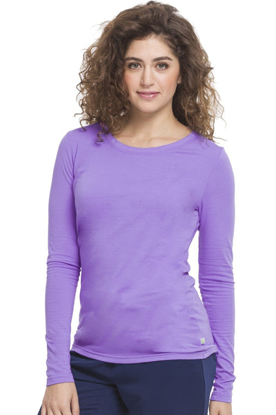 Healing Hands Scrub Tee Purple Label Melissa Long Sleeve