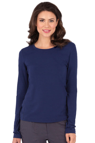 Healing Hands Scrub Tee Purple Label Mackenzie Long Sleeve