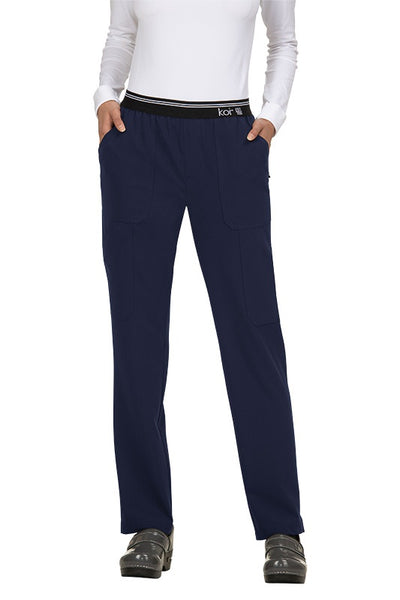 Koi Tall Scrub Pants Next Gen On The Run in Navy at Parker's Clothing and Shoes.