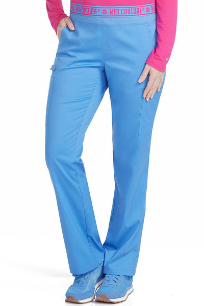 Med Couture Scrub Pants Touch Ally Yoga Pant Ceil - Parker's Clothing and Shoes
