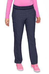 Med Couture Scrub Pants Touch Ally Yoga Pant Indigo Heather - Parker's Clothing and Shoes
