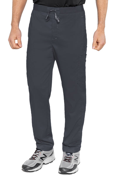 Med Couture Mens Scrub Pants RothWear Hutton Straight Leg in Pewter at Parker's Clothing and Shoes.