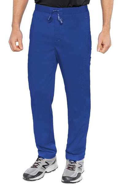 Med Couture Mens Scrub Pants RothWear Hutton Straight Leg in Royal at Parker's Clothing and Shoes.