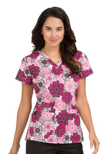 Med Couture MC2 Niki Circle Of Fun Print Tops - Parker's Clothing & Gifts