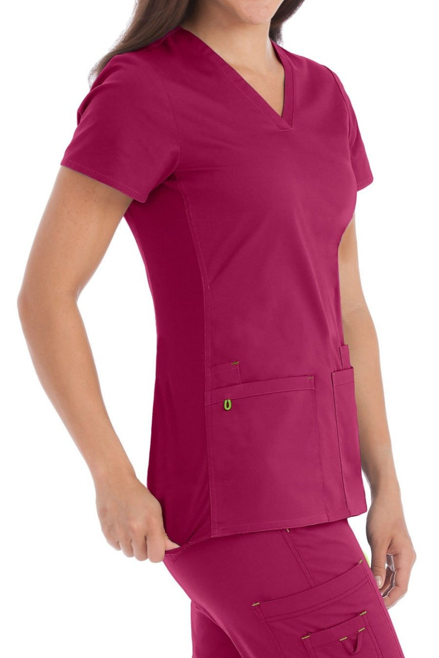 Med Couture MC2 Everyday Top Cranberry - Parker's Clothing & Gifts