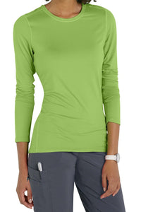 Med Couture Activate Performance Tee 8499 in Apple at Parker's Clothing and Shoes.