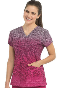Med Couture Air Print Scrub Top Animal Motion - Parker's Clothing & Gifts