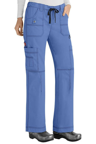 Dickies Scrub Pants Gen Flex 857455 in Ceil at Parker's Clothing and Shoes