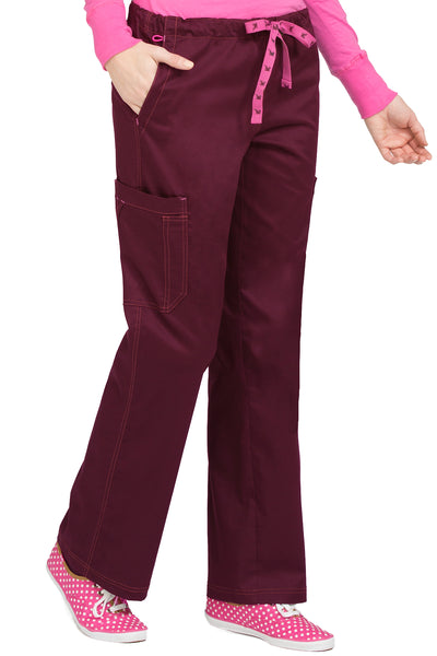 Med Couture MC2 Layla Pant Petite Wine
