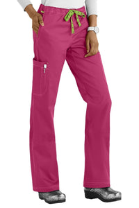 Med Couture Scrub Pants MC2 Layla in Cranberry at Parker's Clothing and Shoes