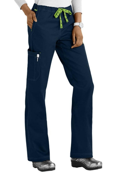 Med Couture Scrub Pants MC2 Layla in Navy at Parker's Clothing and Shoes