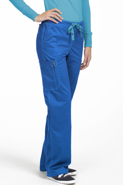 Med Couture Tall Scrub Pant MC2 Layla 8741 in Royal At Parker's Clothing and Shoes