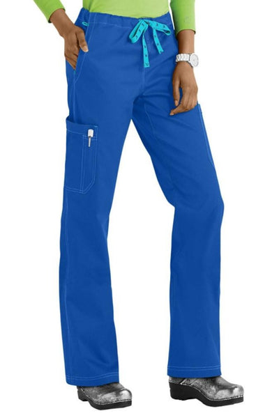 Med Couture Scrub Pants MC2 Layla in Royal at Parker's Clothing and Shoes