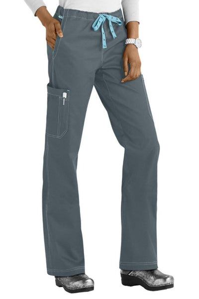 Med Couture Scrub Pants MC2 Layla in Steel at Parker's Clothing and Shoes