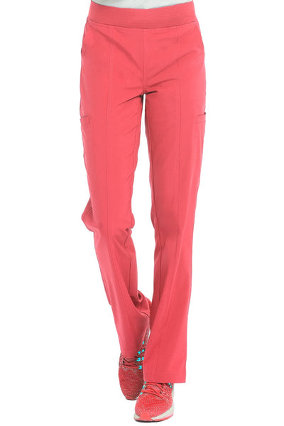 Med Couture Scrub Pant Energy Paige Cargo Scrub Pant Coral - Parker's Clothing and Shoes