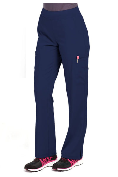 Med Couture Scrub Pant Energy Paige Cargo Scrub Pant Navy - Parker's Clothing and Shoes