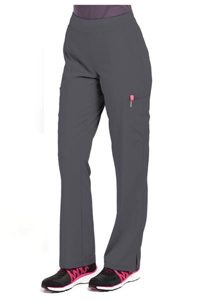 Med Couture Scrub Pant Energy Paige Cargo Scrub Pant Pewter - Parker's Clothing and Shoes