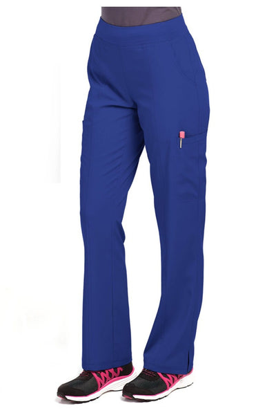 Med Couture Scrub Pant Energy Paige Cargo Scrub Pant Royal - Parker's Clothing and Shoes