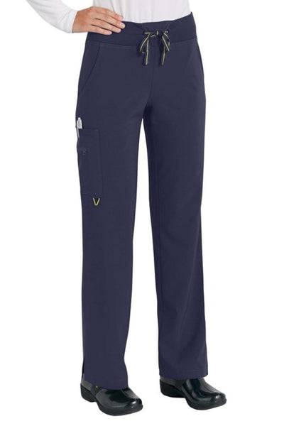 Med Couture Scrub Pant Activate Yoga Pant Navy - Parker's Clothing and Shoes