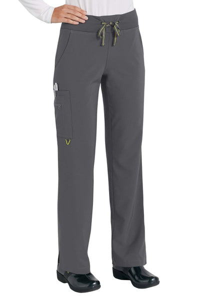 Med Couture Scrub Pant Activate Yoga Pant Pewter - Parker's Clothing and Shoes