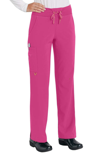 Med Couture Scrub Pant Activate Yoga Pant Pink Punch - Parker's Clothing and Shoes