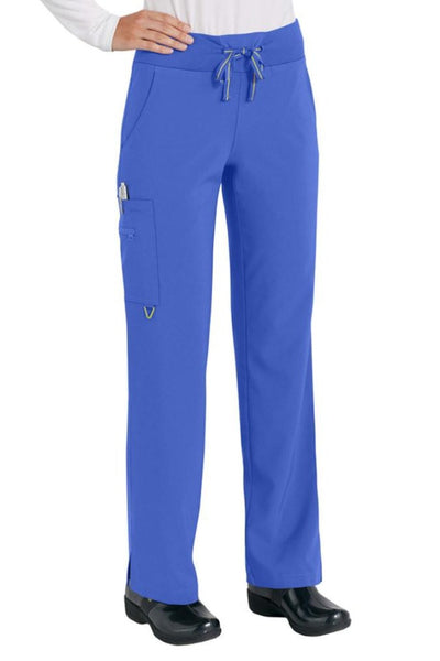 Med Couture Scrub Pant Activate Yoga Pant Royal - Parker's Clothing and Shoes