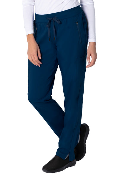 Healing Hands Purple Label Toni Yoga Scrub Pant Navy - Parker's Clothing and Shoes