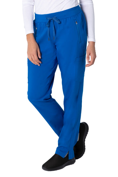 Healing Hands Purple Label Toni Yoga Scrub Pant Plus Size Royal - Parker's Clothing and Shoes