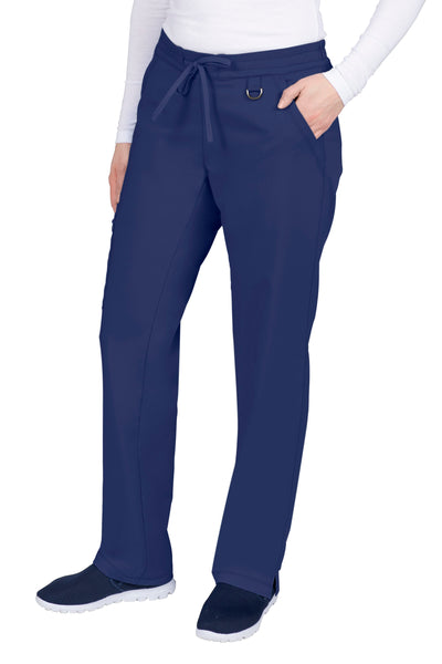 Healing Hands Petite Scrub Pants Purple Label Tamara in Navy at Parker's Clothing and Shoes.