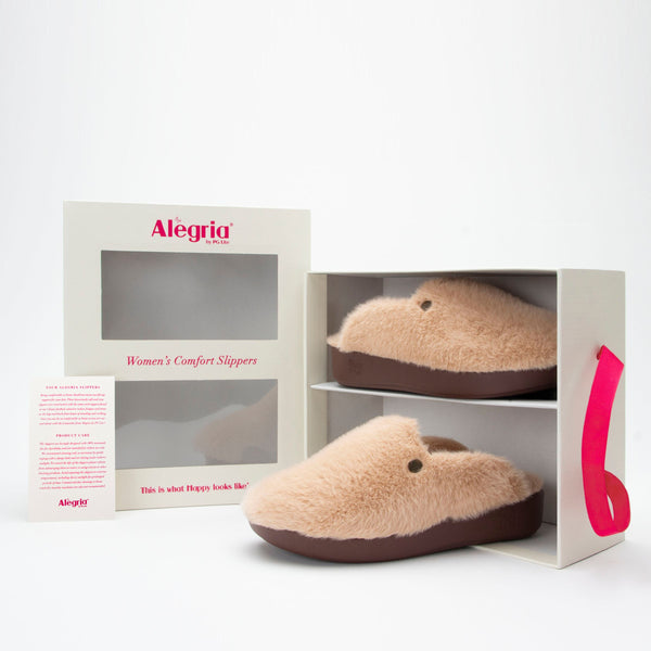Alegria Leisurelee Slipper in Natural at Parker's Clothing and Shoes