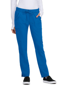 Betsey Johnson Scrub Pants Buttercup Slim Fit Petite in Royal at Parker's Clothing and Shoes
