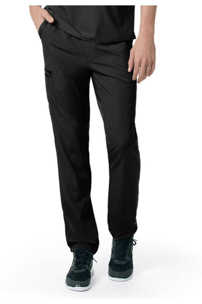Carhartt Liberty Mens Scrub Pants Slim Fit Straight Leg C55106 in Black at Parker's Clothing and Shoes